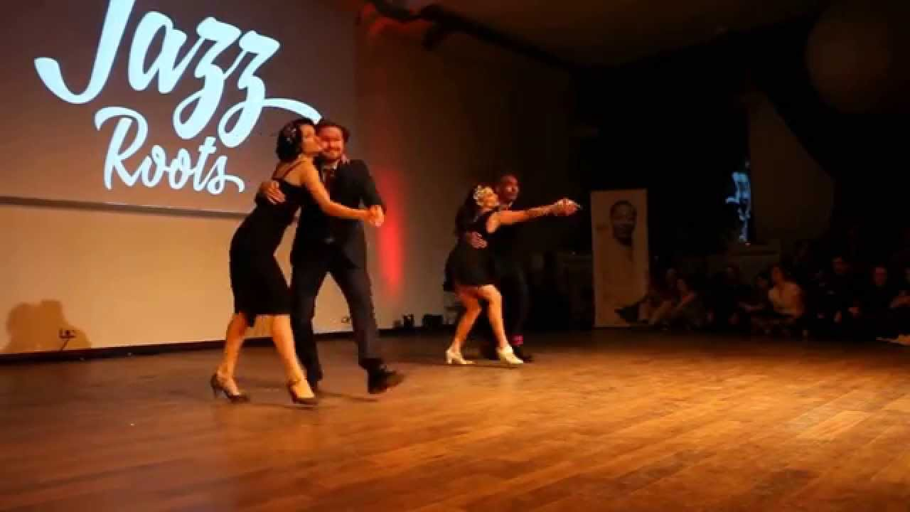 Jazz Roots 2015 - Saturday Night Show - Couples Act - Rickard, Ksenia, Rémy & Evita
