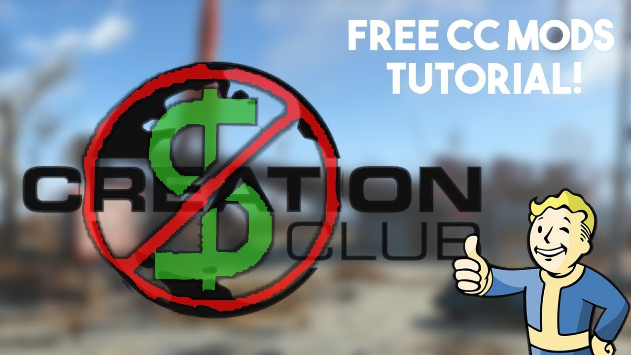 FREE FALLOUT 4 CREATION CLUB MODS TUTORIAL!