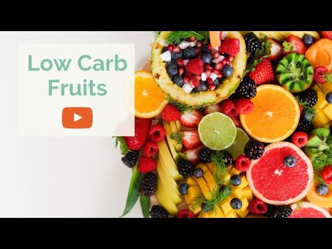 LOW CARB FRUITS / 15 Fruits Lowest in Net Carbs