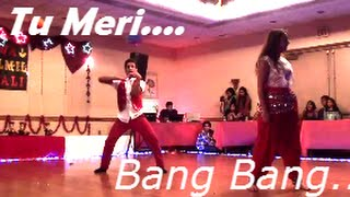 Tu meri Bang Bang Dance Performance