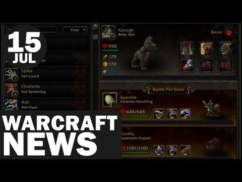 Newsmin - WarCraft News - 15/07/12 - PET BATTLES ARE BACK!