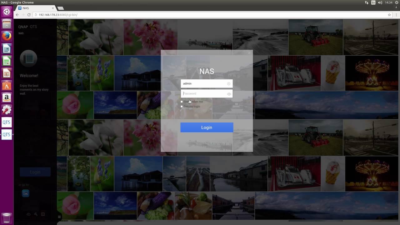 Ubuntu 16 04 auf QNAP TS-253A