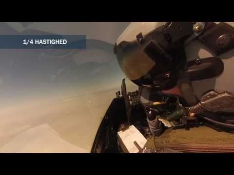 DANISH AIR FORCE Missile Livefire Exercise
