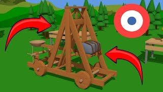 Circular saw and wooden catapult construction - How it's made