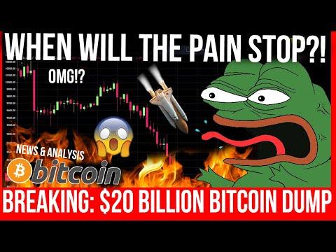WHEN WILL BITCOIN STOP DUMPING?! BITCOIN TA