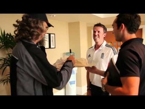 The Secret Cricketer - Graeme Swann Test