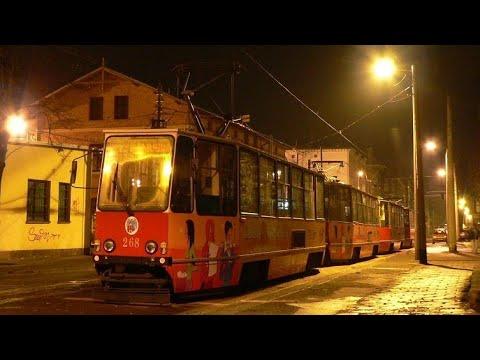 [🇵🇱PL] MZK Toruń - Konstal 805Na #268+#269 - [🚋5➡️OLIMPIJSKA przez Kraszewskiego] 🎵Drzwi🎵