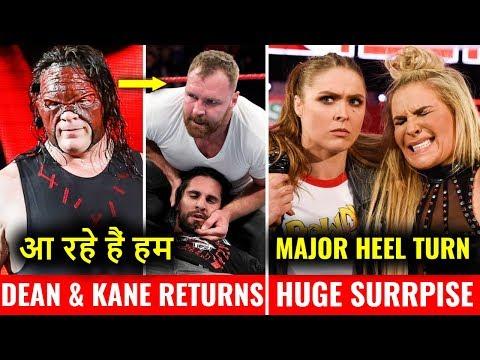 Dean & Kane RETURNS ! Why Raw Was BAD ? Big HEEL TURN on Raw 3 December 2018 Highlights !