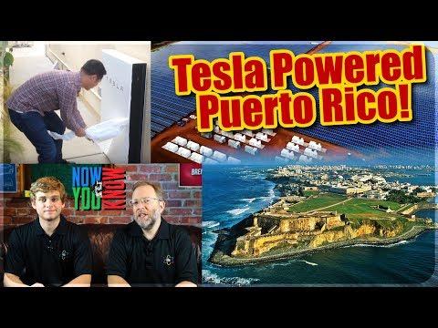 In Depth - Tesla Powered Puerto Rico?