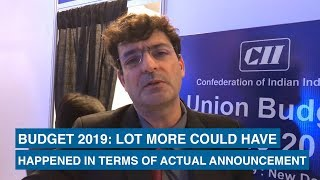 Budget 2019: Lot more could have happened in terms of actual announcement