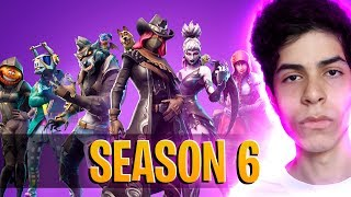 SEASON 6 ARRIVED, NEW SKINS AND MORE-DBRSTREAM (FORTNITE)