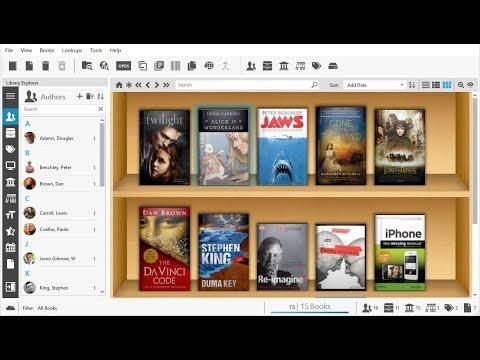 Home Library Software - Alfa Ebooks Manager