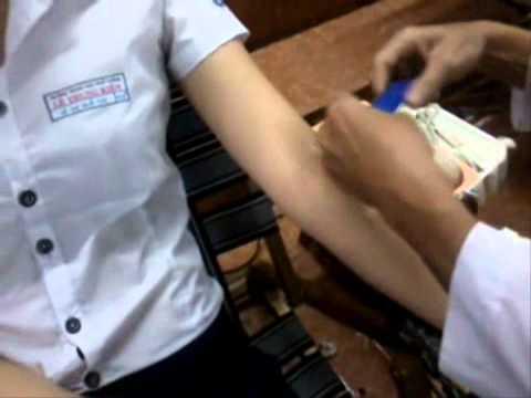 THPT Lê Trung Kiên - Hiến máu nhân đạo