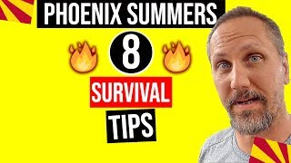 8 Tips On Surviving a Hot Phoenix Summer | Living In Arizona | Phoenix Arizona Weather Guide