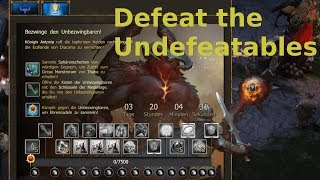 🎮 Drakensang Online 🎮 Testserver: NEW Defeat the Undefeatables Event [GER]
