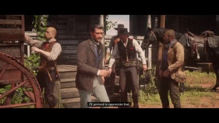 Red Dead Redemption 2: Story live stream! Part 4 PS4
