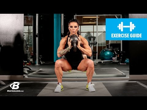 How To Do a Kettlebell Sumo Squat | Exercise Guide