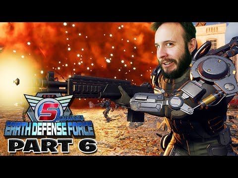 Earth Defense Force 5 Part 6 - Funhaus Gameplay