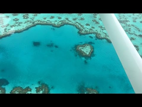 The Great Barrier Reef, Heart Reef, Queensland Australia Ful