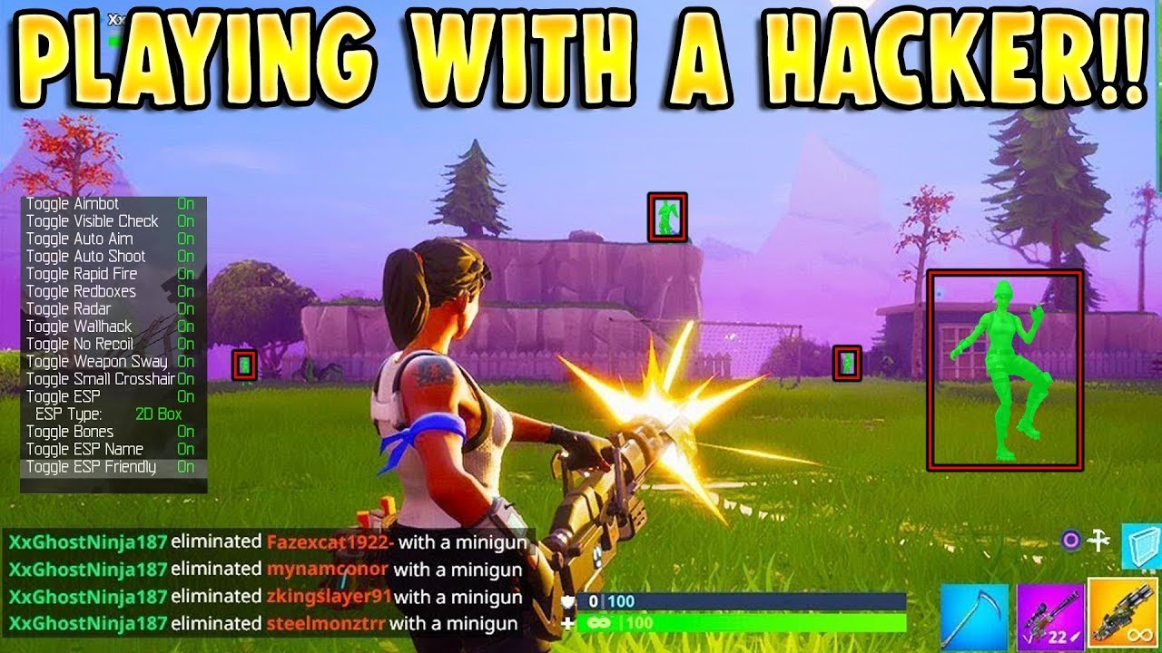 Fortnite Hacker Net playing with most known fortnite hacker!!! (he carries me!)