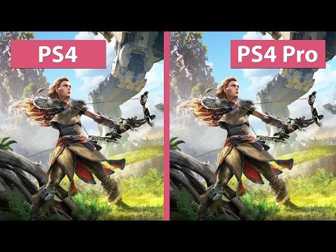 4K UHD | Horizon Zero Dawn – PS4 vs. PS4 Pro 4K Mode Graphics Comparison