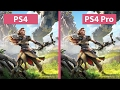 4K UHD | Horizon Zero Dawn – PS4 vs. PS4 Pro 4K Mode Graphics Comparison