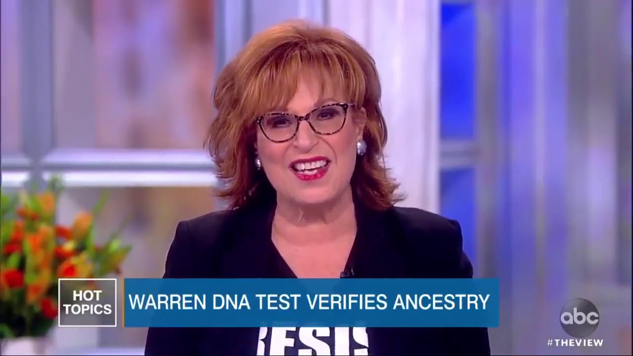 The View Crowd Laughs at Elizabeth Warren's DNA Test Results
