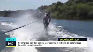 Aprendiendo esquí acuático en Valdemorillo