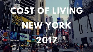 Cost of living in New York City (USA)