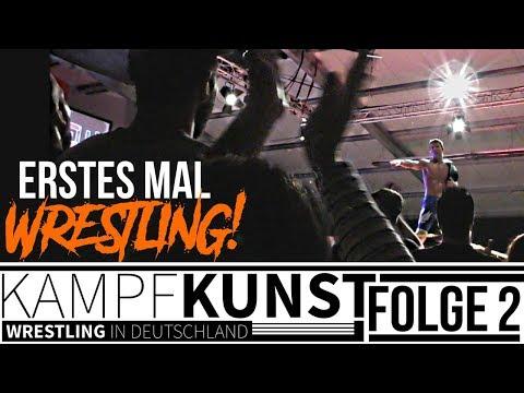 """DOKUMENTATION """"KAMPFKUNST - Wrestling in Deutschland"""" (2/8): ERSTES MAL WRESTLING! (Deutsch/German)"""