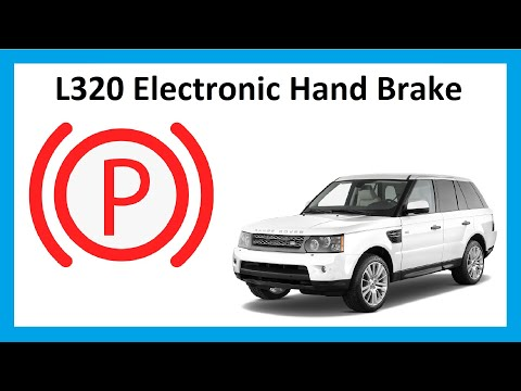 Range Rover Sport Electronic Hand Brake Use / Problems / Manual Release