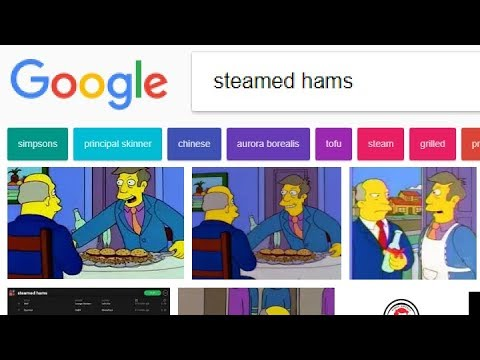 Steamed Hams but every word is a Google Image