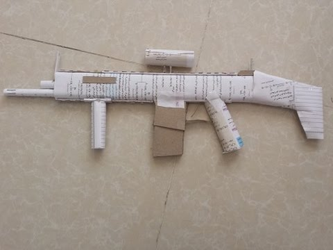 how to make scar-h ( easy to make )