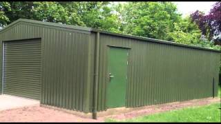 Supplier Of Steel Buildings By Sharp And Strong Ltd