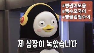 [9분펭수] 펭귄어모음(최신영상까지), #펭수어, #펭귄어, #penguin_language