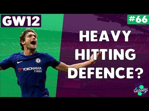 HEAVY HITTING DEFENCE?   Gameweek 12   Let's Talk Fantasy Premier League 2017/18   #64