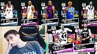 hes got the best team in the game pink diamond kobe bryant is unstoppable nba 2k17 myteam gameplay