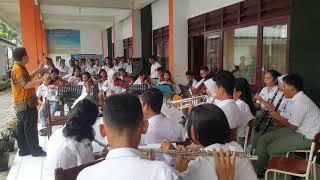 SEKOLAH MUSIK MEDAN - LAGU INDONESIA RAYA - orkestra SMK N 11 MEDAN
