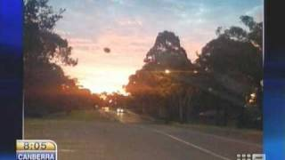 UFO sighting over Sydney - Original Captures - March 23, 2010