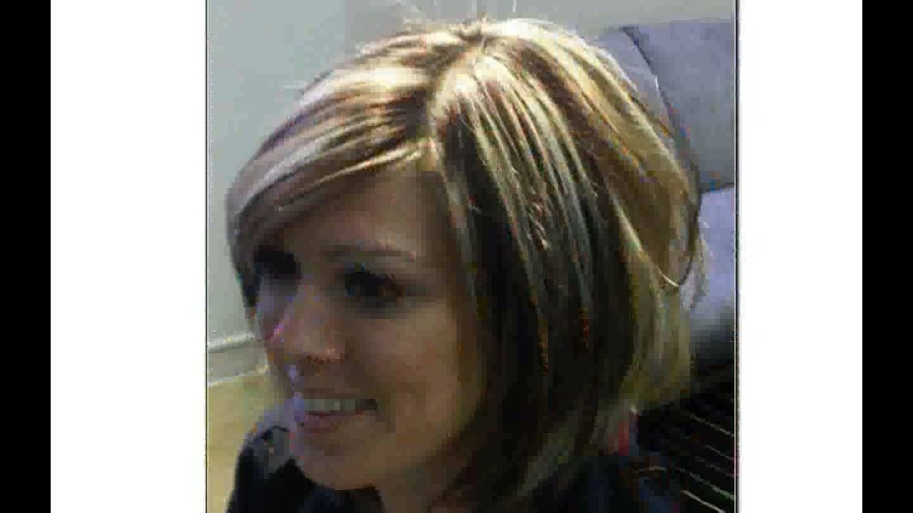 Hairstyles with Highlights and Lowlights - YouTube