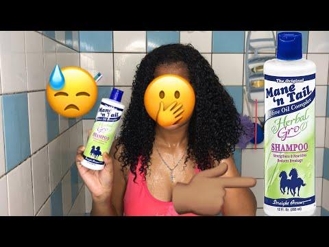 I Tried Horse Shampoo On My Natural Hair
