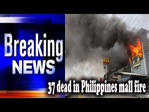 37 dead in Philippines mall fire || World News Radio