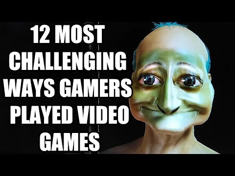12 Most CHALLENGING Ways GAMERS Played Their Favourite Games