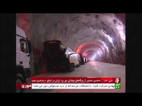 IRAN airs unseen footage Of Secret UnderGROUND missile base VIDEO