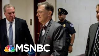 Kent Testimony Called Trump Ukraine Conduct 'Injurious To The Rule Of Law' | Velshi & Ruhle | MSNBC