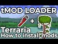 How to install Terraria MODS | tModLoader Installation Guide v0.10 2018