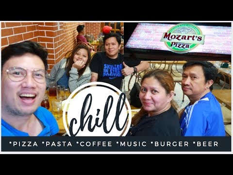 ITALIAN PIZZA HOUSE IN MOLINO IV BACOOR CAVITE | MOZART'S PIZZA |  RESTAURANT + FOOD REVIEW