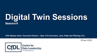 Digital Twin Sessions #6: Spatial enablement underpinning the Digital Twin
