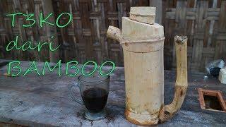 Cara Membuat Teko dari Bamboo.