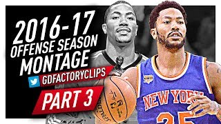 Derrick Rose Offense Highlights Montage 2016/2017 (Part 3) - Shades of 2011 MVP Rose!